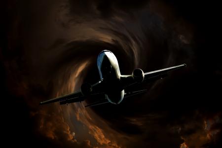 airplane flight turbulence