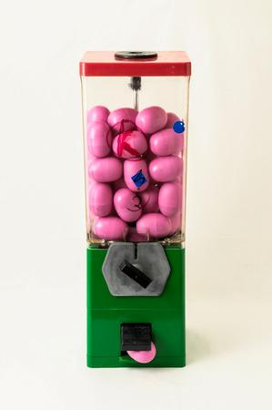 Vintage Eggs Slot Machine on White