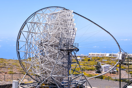 Picture of a Modern Scientific Astronomical Observatory Telescope