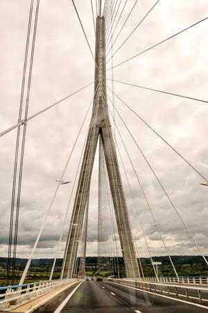 Photo Picture view of Le Pont de Normandie Normandy Bridge