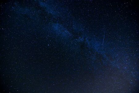 Photo pour Starry Night Sky with a lot of Stars Background - image libre de droit