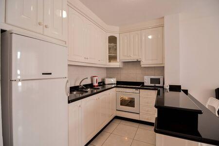 Photo pour Photo Picture internal view of a modern kitchen - image libre de droit