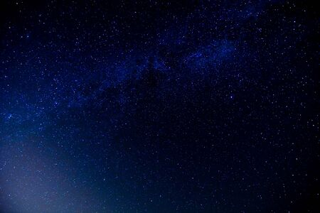 Photo for Starry Night Sky with a lot of Stars Background - Royalty Free Image
