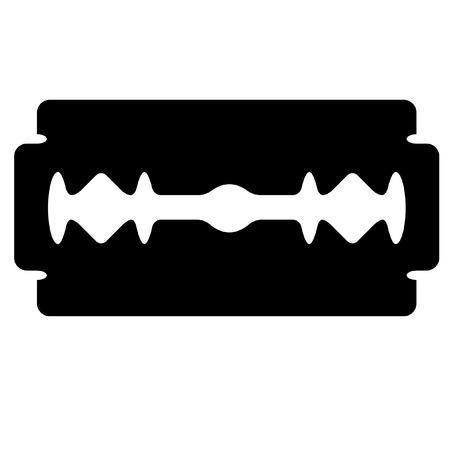 illustration of a razor's edge