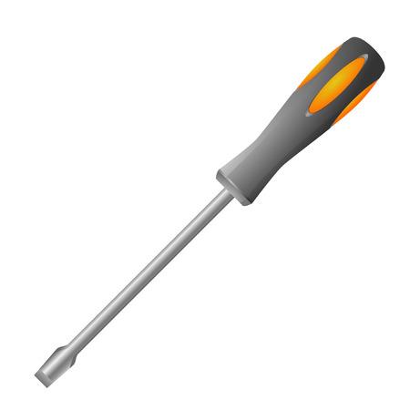 detailed illustration of a screwdriver