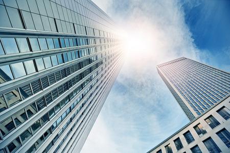 modern office buildings in Frankfurt am Main, Germany