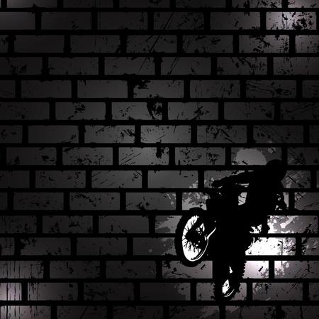 Illustration pour Abstract black background. Clip-art - image libre de droit