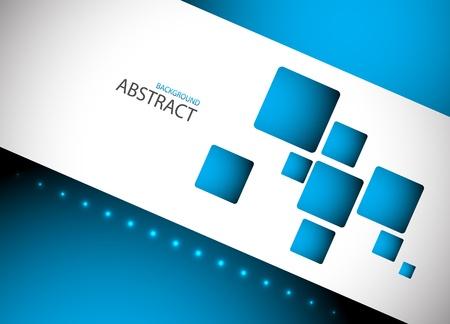 Abstract blue hi-tech background  Clip-art