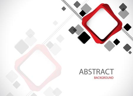 Illustration pour Abstract hi-tech background  Clip-art - image libre de droit