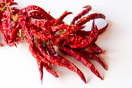 Red pepper, dried pepper, very peppery