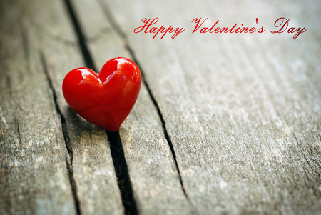 Valentines Day background with heart.
