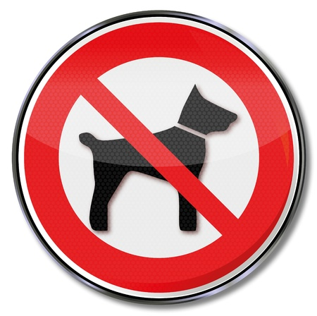 No sign prohibiting dogs