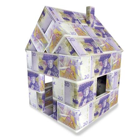 House of 20 Swedish kronor
