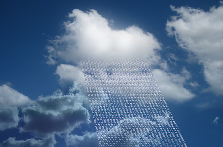 Cloud as cloud computing and cloud data