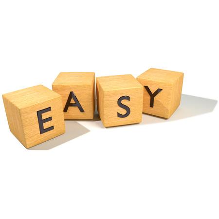 Photo pour Dice and Easy - image libre de droit