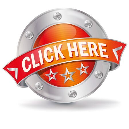 Button with click here and go on