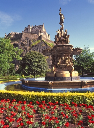 Ross Fountain in West Prince