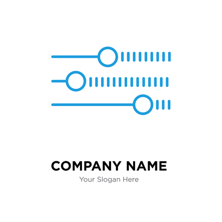 Illustration for Levels company logo design template, Levels logotype vector icon, business corporative - Royalty Free Image