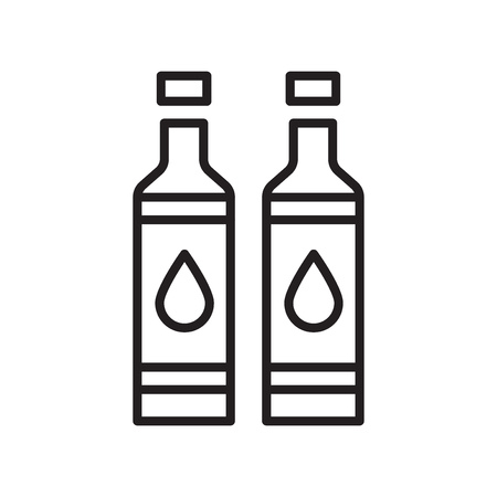 Illustration pour Toner icon vector isolated on white background, Toner transparent sign , line or linear design elements in outline style - image libre de droit