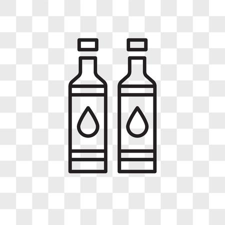 Illustration pour Toner vector icon isolated on transparent background, Toner logo concept - image libre de droit