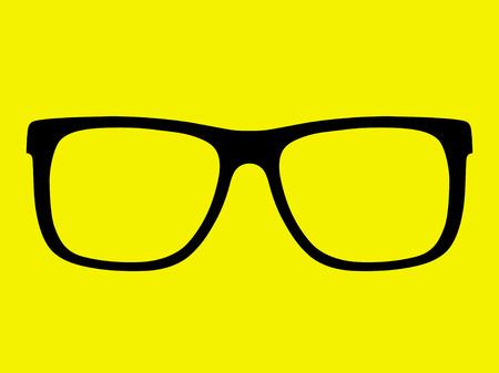 vector glasses frame