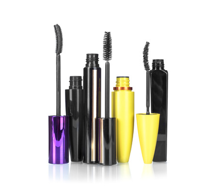 mascara for make-up isolated on white background