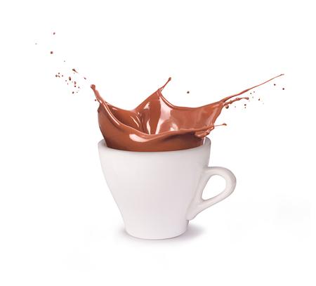 Photo pour A cup of chocolate - image libre de droit