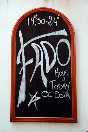 A Fado Restaurant in Alfama in the City of Lissbon in Portugal