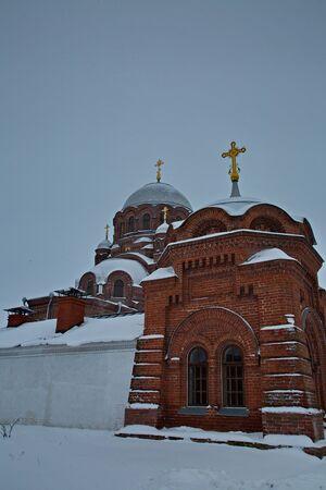 Orthodox church in Sviyazhsk city.