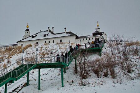 Sviyazhsk-grad fortress at the confluence of the Sviyaga and Volga rivers.