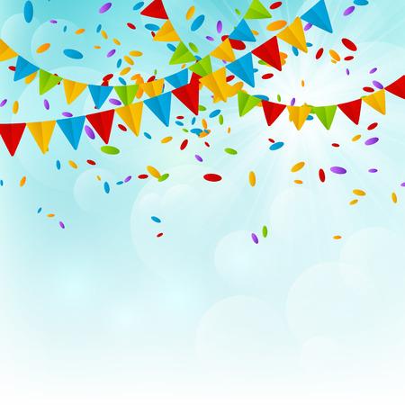 Illustration pour Party background for Your design - image libre de droit