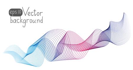 Illustration pour Abstract wave for Your design - image libre de droit