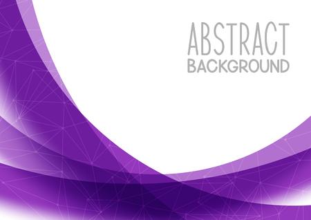 Illustration pour Abstract purple background for Your design - image libre de droit