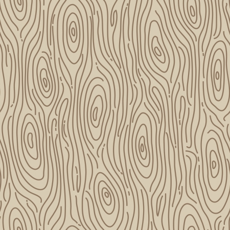 Retro wood seamless background - Vector illustration