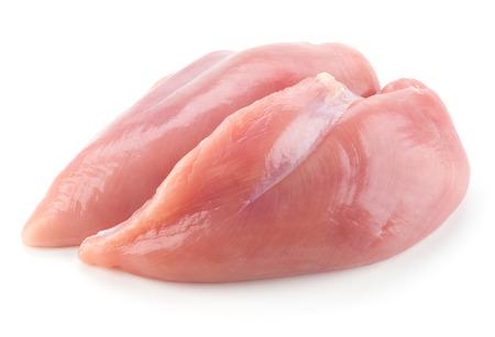 Foto de Raw chicken breast fillets - Imagen libre de derechos