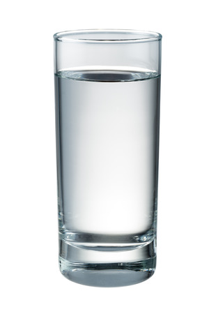 Photo pour Water glass isolated. With clipping path - image libre de droit