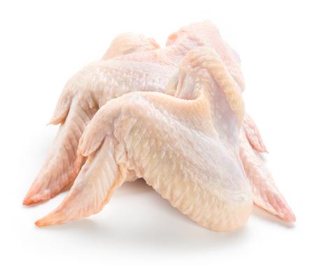 Foto für Raw chicken wings isolated on white background - Lizenzfreies Bild