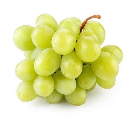 Foto für Grape. Grapes isolated on white. Green grape. With clipping path. Full depth of field - Lizenzfreies Bild