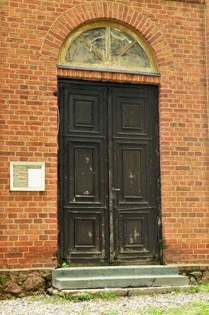 Rural Church door