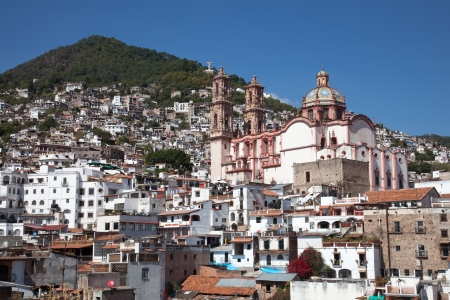 Taxco is a small city located in the Mexican state of Guerrero  The city is heavily associated with silver, and this reputation, along with the city's picturesque homes and surrounding landscapes have made tourism the main economic activity