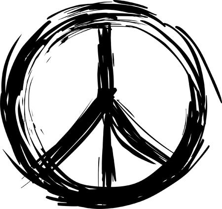 Ilustración de Peace symbol - Imagen libre de derechos