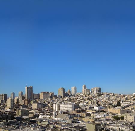 Skyline, San Francisco, california