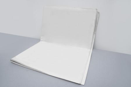Photo pour Blank newspaper for your artwork. - image libre de droit