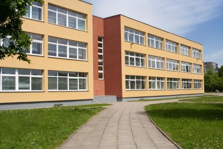 Foto de School building - Imagen libre de derechos