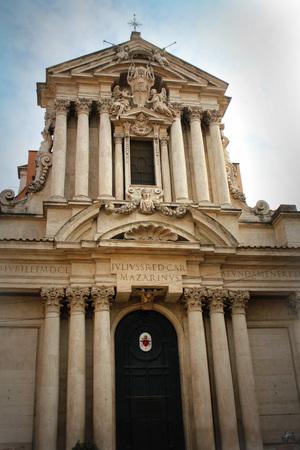 Church Rettoria Santi Vincenzo e Anastasio a Fontana di Trevi in Rome, Italy