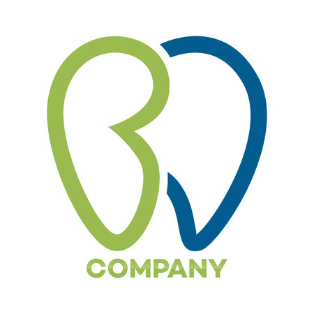 Tooth and BD company linked letter icon