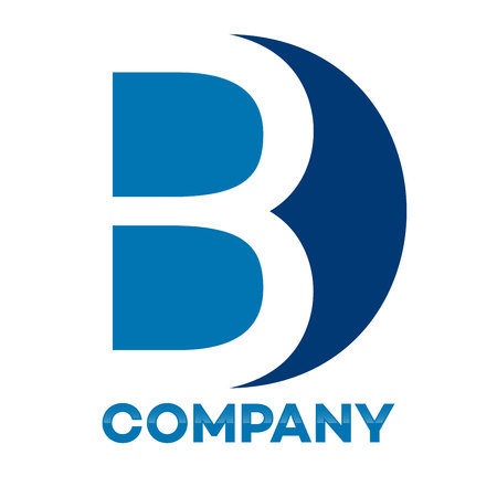 BD company linked letter icon
