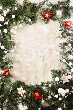 Foto de Christmas frame - Imagen libre de derechos