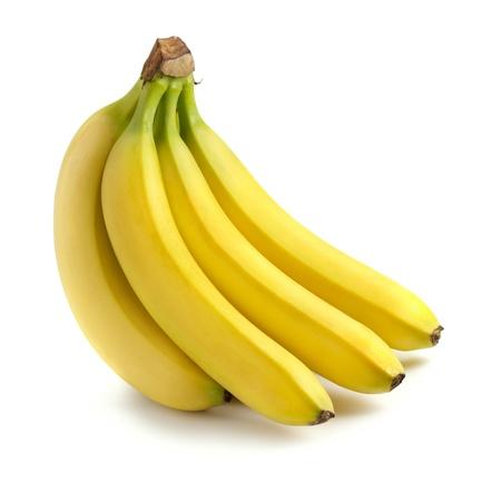 Foto für Bunch of bananas isolated on white - Lizenzfreies Bild