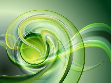 Illustration pour Abstract green background  no mesh  - image libre de droit